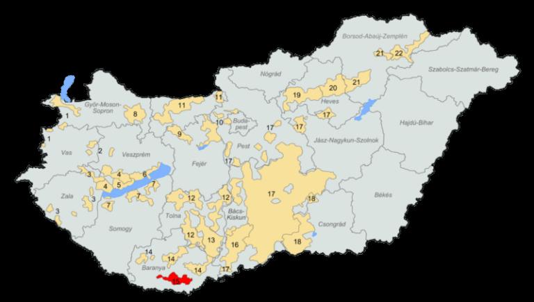 Borvidékek Magyarország Villány Siklós
