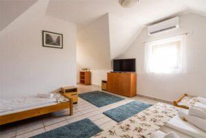 Apartman kényelem klima tv