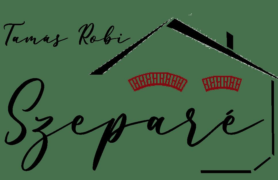 Szeparé szállás villány logó